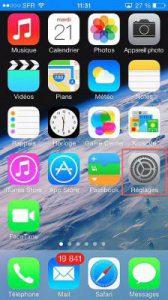 empreintes iPhone