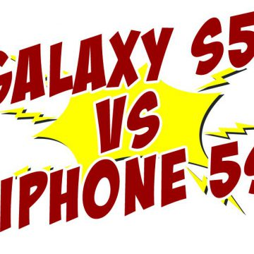 iphone 5s samsung galaxy s5 duel