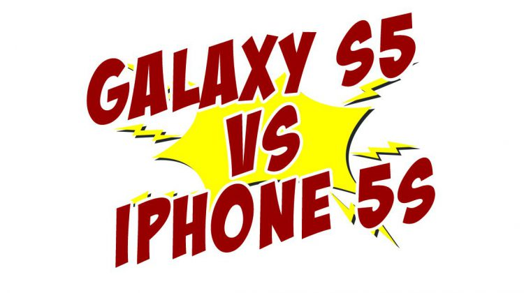 iphone 5s samsung galaxy s5 duel