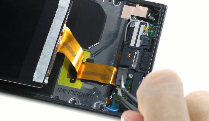 10 connecteur écran xperia xz relacher