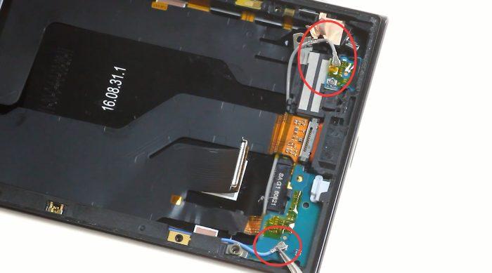 29 debrancher les cables de signal