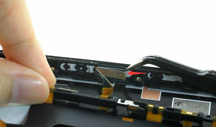 44 deconnecter le bouton power xperia xz