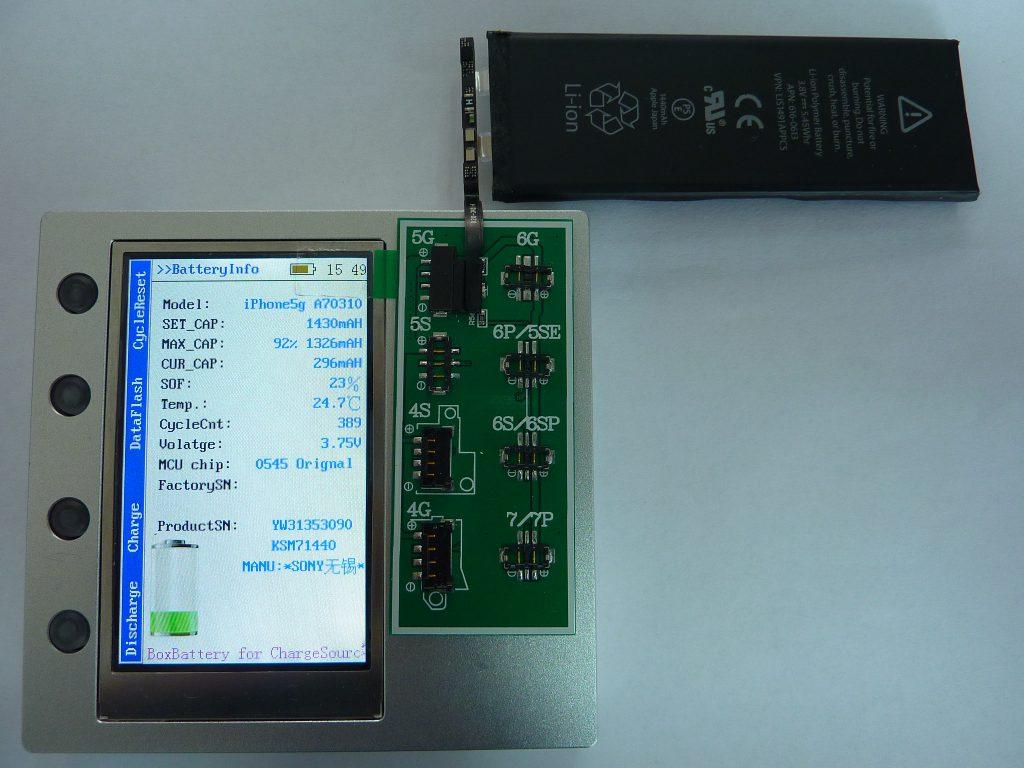testeur batterie apple