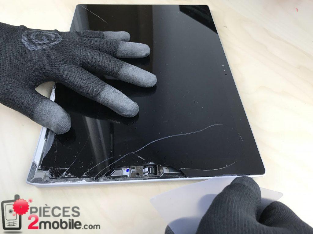 Surface Pro 3 écran carte plastique