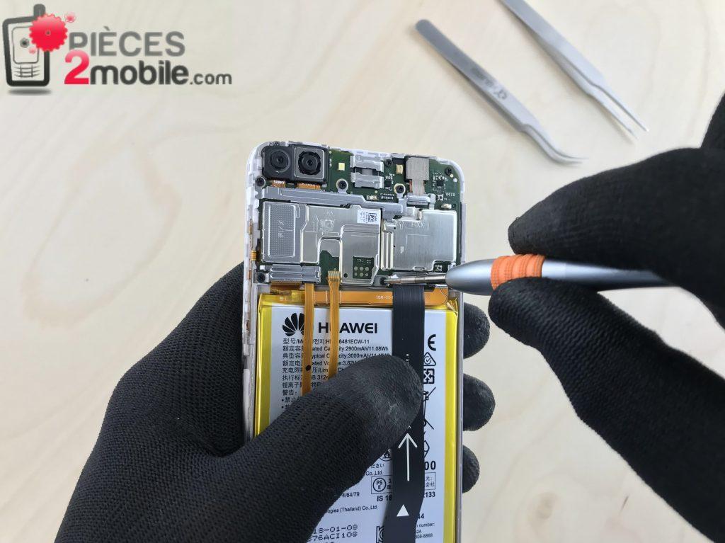 Huawei P Smart cache connecteur batterie