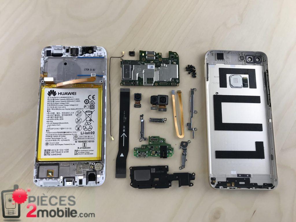 Huawei P Smart vue éclatée