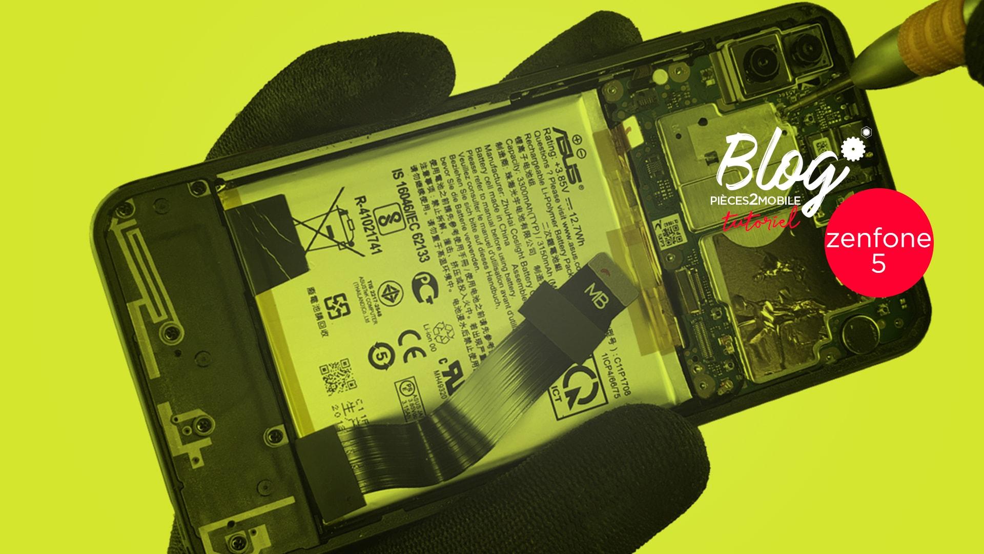 Démontage complet du Asus Zenfone 5