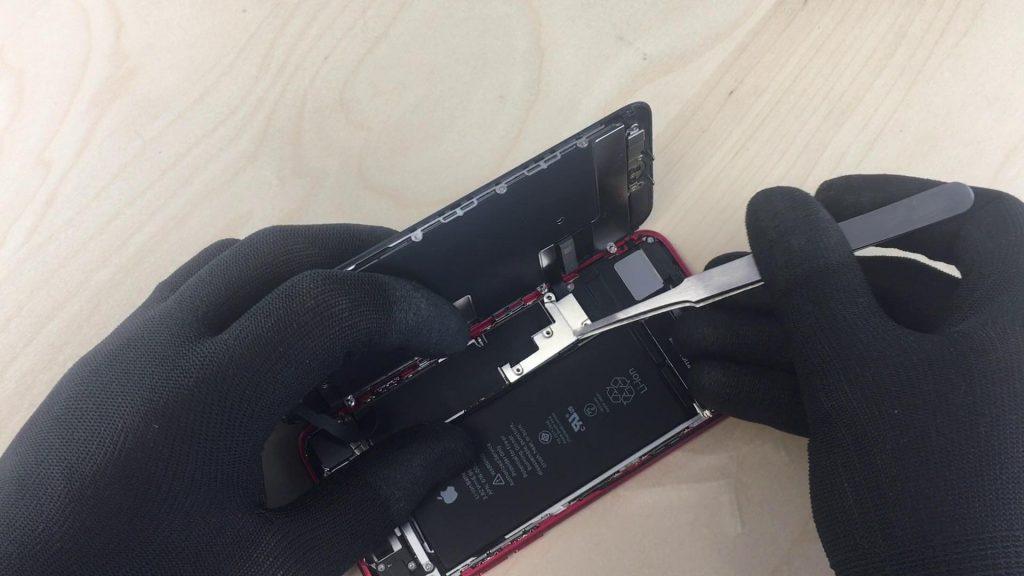 Changer l'écran de l'iPhone 7 et déconnecter les câbles de l'écran