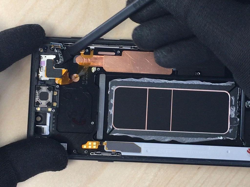 changer l'écran du Note 9 en enlevant le capteur de proximité