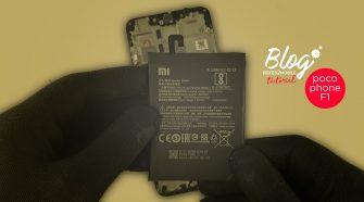 Changer la batterie du Pocophone F1