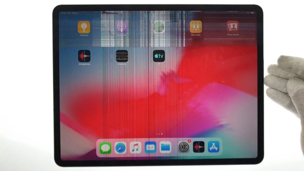Ipad pro 12.9 2018 3rd changement d'ecran