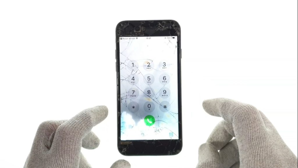 Iphone 7 probleme reseau et aucun service